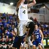 2-9-16 Eastern vs Tipton boys basketball <br /> Eastern's Zach Robinson<br /> Kelly Lafferty Gerber | Kokomo Tribune