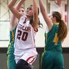2-2-16 Taylor vs Eastern girls sectional basketball <br /> Taylor's Shaelah Eliason<br /> Kelly Lafferty Gerber | Kokomo Tribune