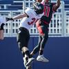 Javon Butler catches a pass for a touchdown