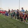 Rec League Teams during pregame