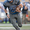 Brayden Dodson runs the ball