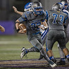 Brayden Dodson finds a hole in Fort's defense