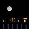 Halftime score under a full moon