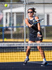 Girls High School Tennis.  Notre Dame Crusaders at Corning Hawks. September 12, 2016.
