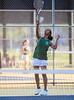 Girls High School Tennis.  Vestal Golden Bears at Corning Hawks. September 16, 2016.
