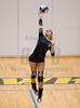 Varsity High School Volleyball. Maine-Endwell Spartans at Corning Hawks. September 15, 2016.