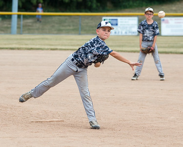 JOE COLON/CHRONICLE Henry Calcut delivers a pitch for North Ridgeville FTC.
