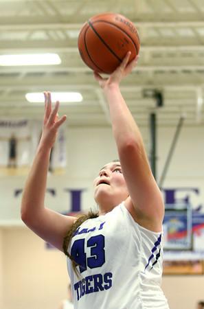 1-5-16<br /> Northwestern vs Eastern girls basketball<br /> Northwestern's Brooke Treadway<br /> Kelly Lafferty Gerber | Kokomo Tribune