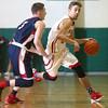1-28-16 Taylor boys basketball<br /> Taylor's Darian Stone<br /> Kelly Lafferty Gerber | Kokomo Tribune