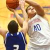 1-23-16<br /> Kokomo vs Tipton boys basketball<br /> Kokomo's Marcelle Kenner<br /> Kelly Lafferty Gerber | Kokomo Tribune