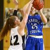 1-14-16<br /> Carroll County vs Western girls basketball<br /> Carroll's Meghan Miller<br /> Kelly Lafferty Gerber | Kokomo Tribune