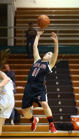 1-9-16<br /> Eastern vs Taylor girls basketball<br /> Taylor's Hannah Mullinax<br /> Kelly Lafferty Gerber | Kokomo Tribune