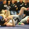 1-30-16<br /> Sectional Wrestling<br /> Western's Payton Lechner in the 106<br /> Kelly Lafferty Gerber | Kokomo Tribune