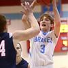 1-29-16   Mac vs Cass Bbball<br /> Maconaquah's Chandler Pitts<br /> Kelly Lafferty Gerber | Kokomo Tribune