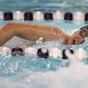 1-26-16 NWHS vs WHS swim meet<br /> Western's Josh Everetts in the 200 Y Freestyle<br /> Kelly Lafferty Gerber | Kokomo Tribune