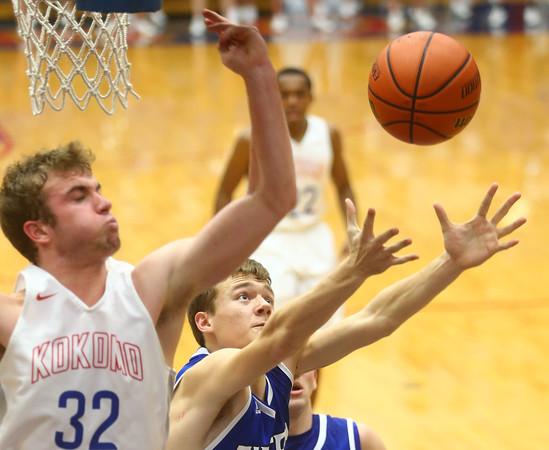 1-23-16<br /> Kokomo vs Tipton boys basketball<br /> <br /> Kelly Lafferty Gerber   Kokomo Tribune