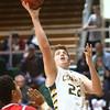 1-8-16<br /> Eastern vs Maconaquah boys basketball<br /> Eastern's Jacob Kinder<br /> Kelly Lafferty Gerber | Kokomo Tribune