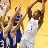 1-23-16<br /> Kokomo vs Tipton boys basketball<br /> Kokomo's Keenen Wheeler<br /> Kelly Lafferty Gerber | Kokomo Tribune