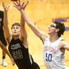 1-13-16<br /> Kokomo vs Western boys basketball<br /> Western's Austin Anderson and Kokomo's Nate Hemmerich go after a rebound.<br /> Kelly Lafferty Gerber | Kokomo Tribune
