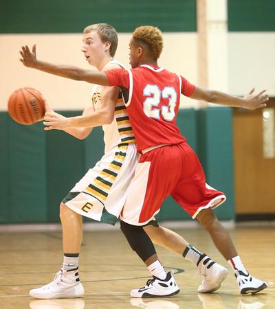 1-8-16<br /> Eastern vs Maconaquah boys basketball<br /> Eastern's Tristen Moyer<br /> Kelly Lafferty Gerber   Kokomo Tribune