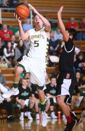 1-28-16 EHS boys basketball<br /> Eastern's Tristen Moyers<br /> Kelly Lafferty Gerber   Kokomo Tribune