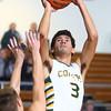 1-28-16 EHS boys basketball<br /> Eastern's Trey Thomas<br /> Kelly Lafferty Gerber | Kokomo Tribune