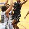 1-2-16<br /> Kokomo vs Peru boys basketball<br /> Peru's Jeremiah Johnson<br /> Kelly Lafferty Gerber | Kokomo Tribune