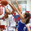1-19-16<br /> Kokomo vs Tipton girls basketball<br /> Kokomo's Allie Lowe<br /> Kelly Lafferty Gerber | Kokomo Tribune