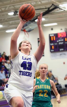 1-5-16<br /> Northwestern vs Eastern girls basketball<br /> <br /> Kelly Lafferty Gerber   Kokomo Tribune