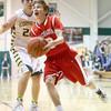 1-8-16<br /> Eastern vs Maconaquah boys basketball<br /> Maconaquah's Chandler Pitts<br /> Kelly Lafferty Gerber | Kokomo Tribune