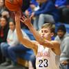 1-13-16<br /> Kokomo vs Western boys basketball<br /> Kokomo's Anthony Barnard<br /> Kelly Lafferty Gerber | Kokomo Tribune