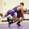 1-21-16<br /> Northwestern vs Cass wrestling<br /> Northwestern's Josiah Riddle and Cass' Cy Wise in the 138.<br /> Kelly Lafferty Gerber | Kokomo Tribune
