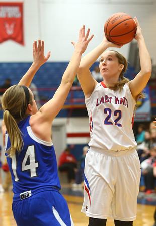 1-19-16<br /> Kokomo vs Tipton girls basketball<br /> Kokomo's Emily Bailey<br /> Kelly Lafferty Gerber | Kokomo Tribune