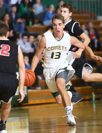 1-28-16 EHS boys basketball<br /> Eastern's Braden Evans<br /> Kelly Lafferty Gerber   Kokomo Tribune