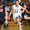 1-28-16 EHS boys basketball<br /> Eastern's Braden Evans<br /> Kelly Lafferty Gerber | Kokomo Tribune