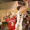 1-8-16<br /> Eastern vs Maconaquah boys basketball<br /> Eastern's Braden Evans and Maconaquah's Chandler Pitts<br /> Kelly Lafferty Gerber | Kokomo Tribune