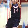 1-29-16   Mac vs Cass Bbball <br /> Cass' Ryan Bixler<br /> Kelly Lafferty Gerber | Kokomo Tribune