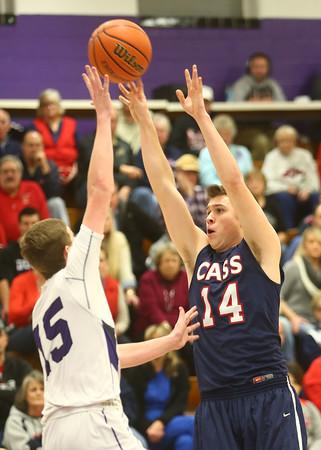 1-22-16<br /> Northwestern vs Cass boys basketball<br /> <br /> Kelly Lafferty Gerber   Kokomo Tribune