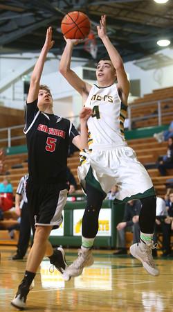 1-28-16 EHS boys basketball<br /> Eastern's Zach Robinson<br /> Kelly Lafferty Gerber | Kokomo Tribune