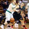 1-9-16<br /> Eastern vs Taylor girls basketball<br /> Eastern's Carma McCombs and Taylor's Hannah Mullinax go after a loose ball.<br /> Kelly Lafferty Gerber | Kokomo Tribune