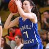 1-14-16<br /> Carroll County vs Western girls basketball<br /> Carroll's Macy Willoughby<br /> Kelly Lafferty Gerber | Kokomo Tribune