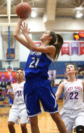 1-19-16<br /> Kokomo vs Tipton girls basketball<br /> Tipton's Cassidy Crawford<br /> Kelly Lafferty Gerber | Kokomo Tribune