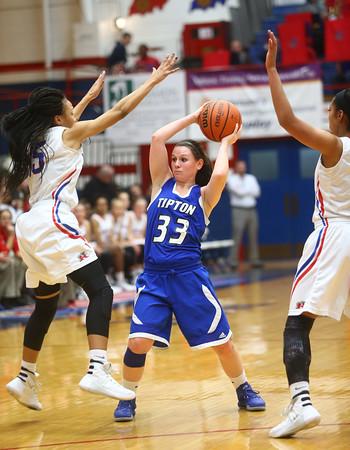 1-19-16<br /> Kokomo vs Tipton girls basketball<br /> Tipton's Delaney Jones<br /> Kelly Lafferty Gerber   Kokomo Tribune