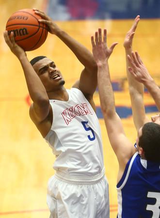 1-23-16<br /> Kokomo vs Tipton boys basketball<br /> Kokomo's Jordan Matthews<br /> Kelly Lafferty Gerber | Kokomo Tribune