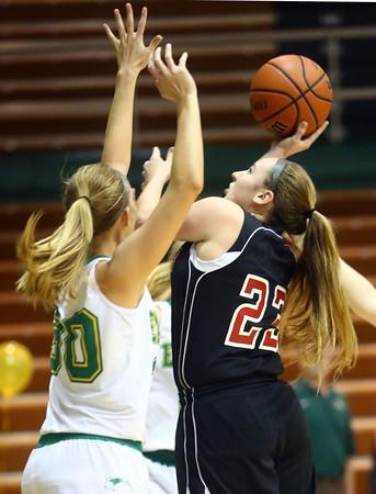 1-9-16<br /> Eastern vs Taylor girls basketball<br /> Taylor's Brie Boehler<br /> Kelly Lafferty Gerber | Kokomo Tribune