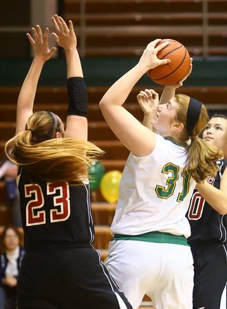 1-9-16<br /> Eastern vs Taylor girls basketball<br /> Eastern's Hailey Holliday<br /> Kelly Lafferty Gerber   Kokomo Tribune