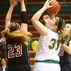 1-9-16<br /> Eastern vs Taylor girls basketball<br /> Eastern's Hailey Holliday<br /> Kelly Lafferty Gerber | Kokomo Tribune