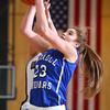 1-14-16<br /> Carroll County vs Western girls basketball<br /> Carroll's Megan Herr grabs a rebound.<br /> Kelly Lafferty Gerber | Kokomo Tribune