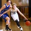 1-14-16<br /> Carroll County vs Western girls basketball<br /> Western's Sarah Connolly<br /> Kelly Lafferty Gerber | Kokomo Tribune