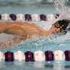 1-26-16 NWHS vs WHS swim meet<br /> Northwestern's Gray Longshore in the 100 Y Freestyle<br /> Kelly Lafferty Gerber | Kokomo Tribune